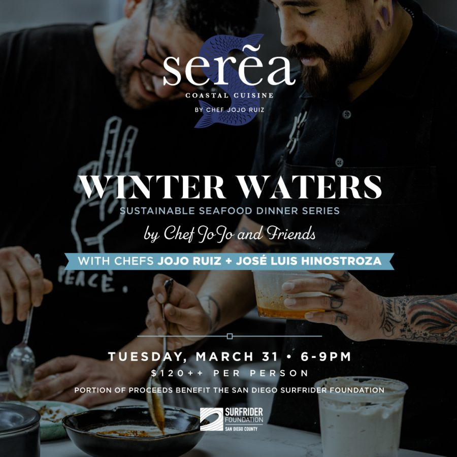 Winter Waters Sustainable Dinner Series at the Hotel del Coronado
