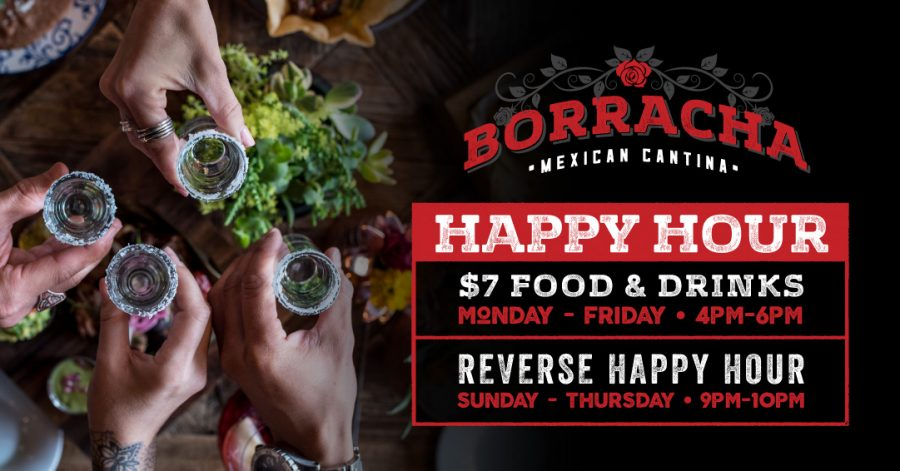 More Happy Hour at Borracha Mexican Cantina