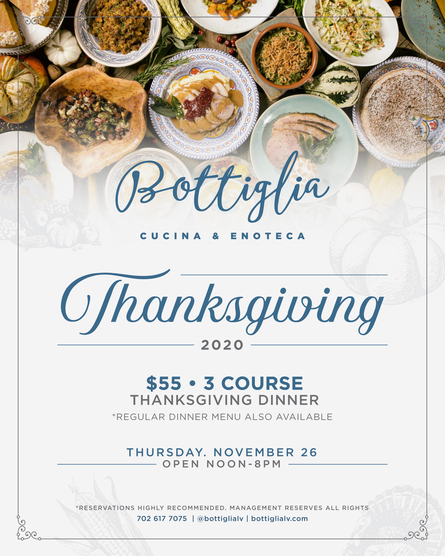 Thanksgiving Bottiglia Cucina Enoteca