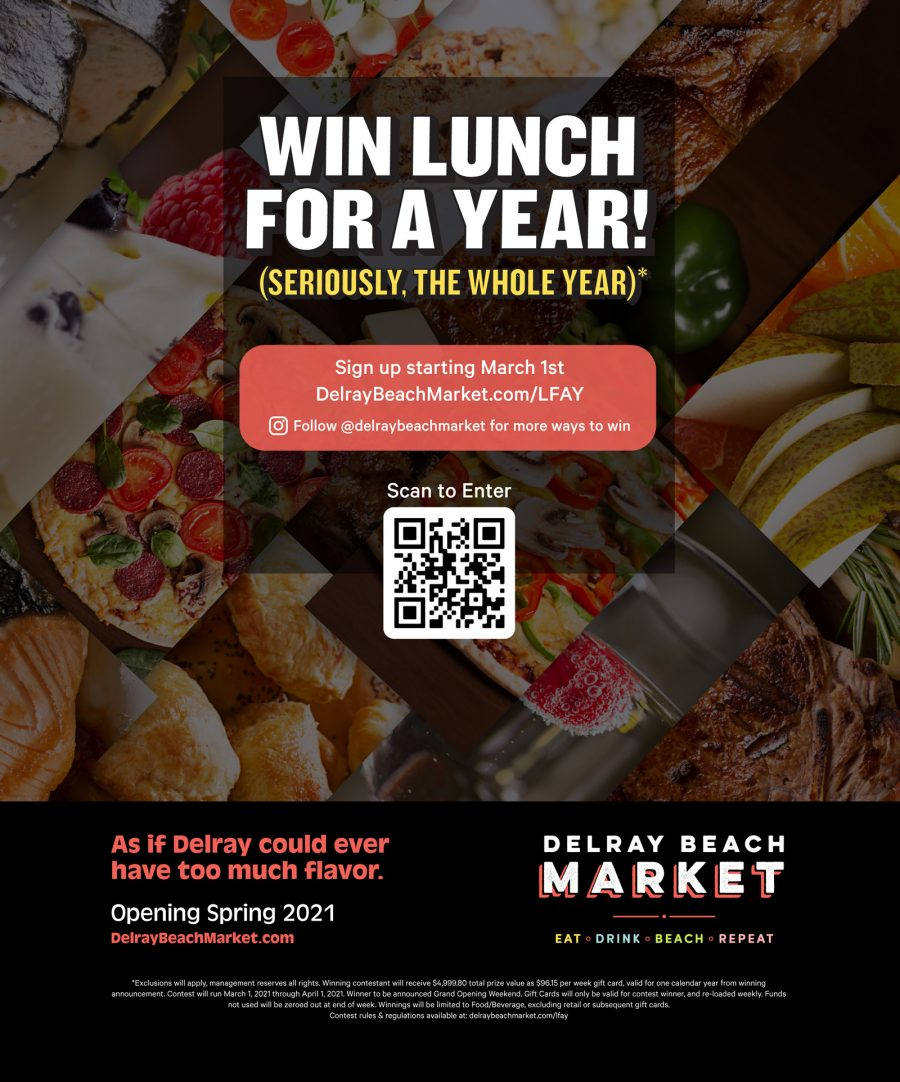 Enter to Win Lunch for a Year